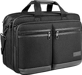 "KROSER 18"" Laptop Bag Stylish Laptop Briefcase Fits Up to 17.3 Inch Expandable Water-Repellent Shoulder Messenger Bag Comp..."
