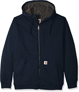 Carhartt Men's Big & Tall Rd Rockland Sherpa Lined Hooded Sweatshirt