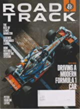 Road & Track August 2019 Driving a Modern Formula 1 Car