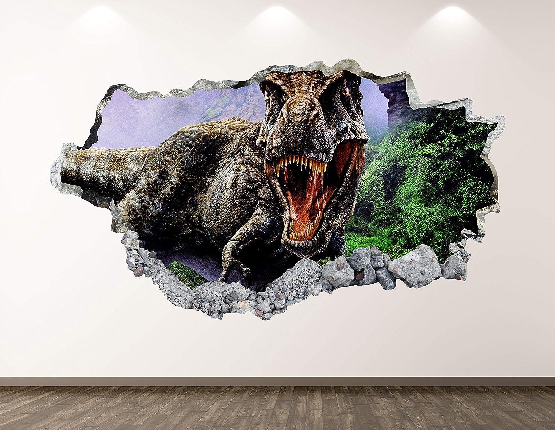 West Mountain Dinosaur Wall Decal Art Sticker Decor Max 62% OFF Mu quality assurance Animal 3D