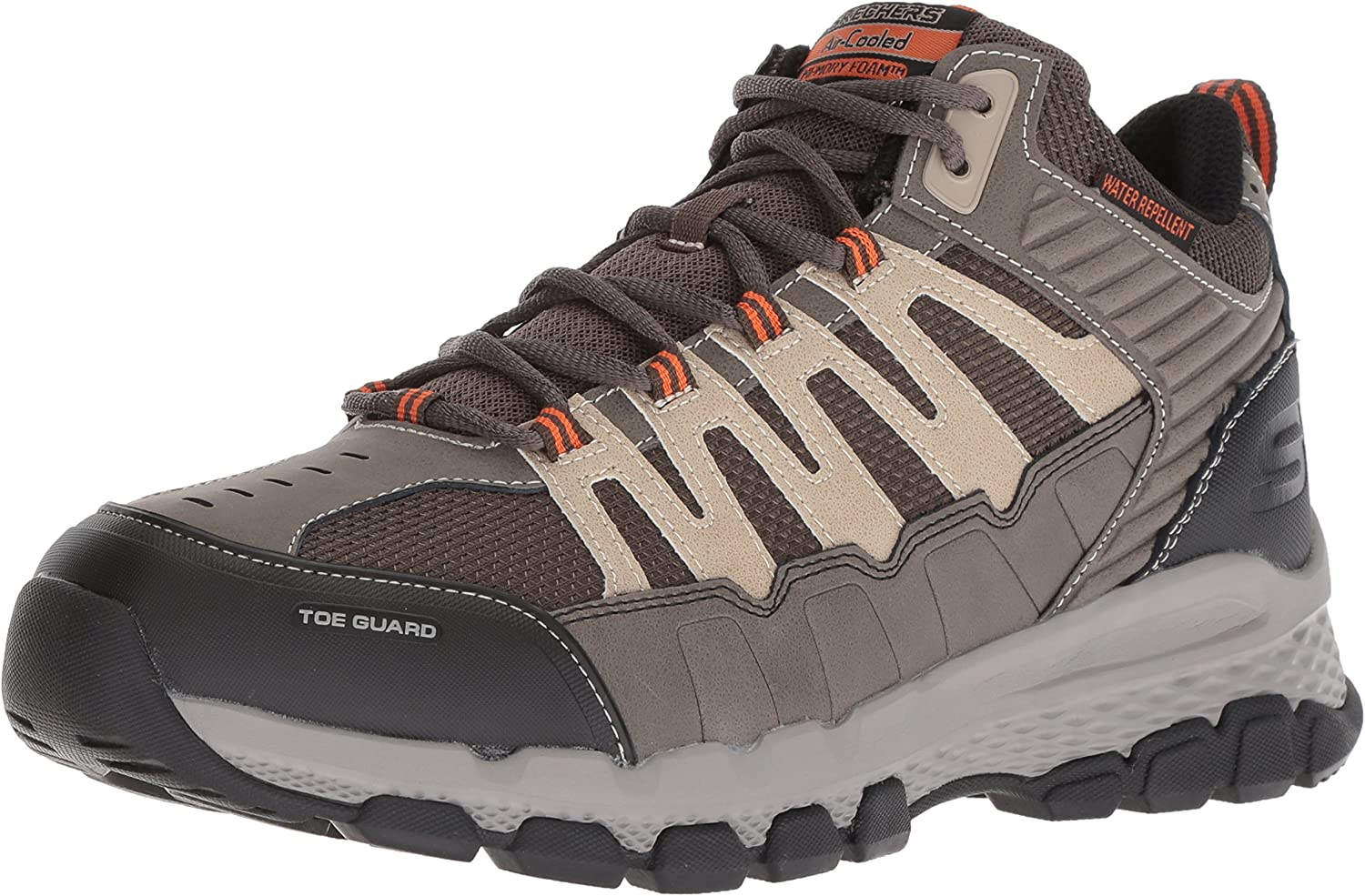 Skechers Men's Outland Outland Outland 2.0 Girvin Hiking Stiefel, braun Taupe, 6.5 M US 35d