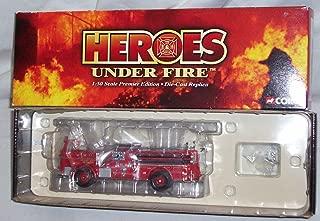 CORGI HEROES UNDER FIRE, SEAGRAVE K OPEN CAB PUMPER, ENGINE CO. 9, KANSAS CITY, MO. 1:50 SCALE DIE CAST MODEL