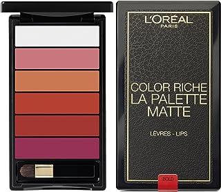 L'Oreal Paris Color Riche Palette Lipstick - 4.25 ml, La Palette Bold 1