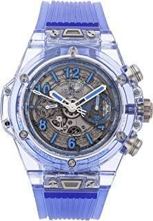 Hublot Big Bang Unico Mechanical (Automatic) Skeletonized Dial Mens Watch 411.JL.4809.RT (Certified Pre-Owned)