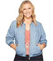 Lucky Brand - Plus Size Bomber Jacket
