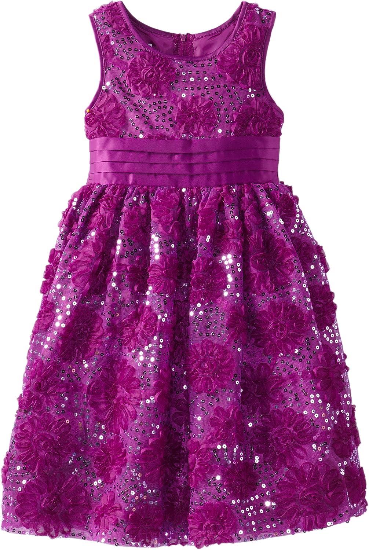 Bonnie Jean Big Girls' Bonaz and Sequin Mesh Dress
