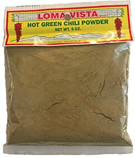 Loma Vista Hot Hatch Green Chili Powder, 5 Ounces