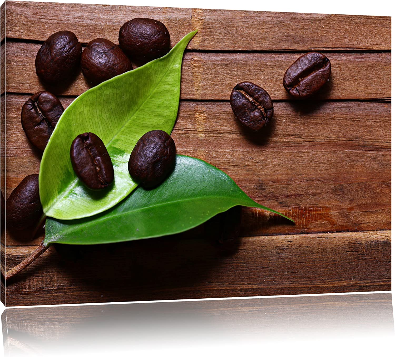 Kaffeebohnen Kaffee Kaffee Mahlen Blatt Wassertropfen Format  120x80 cm cm cm auf Leinwand, XXL riesige Bilder fertig gerahmt mit Keilrahmen, Kunstdruck auf Wandbild mit Rahmen, günstiger als Gemälde oder Ölbild, kein Poster oder Plakat B007P93J0 fd9d52