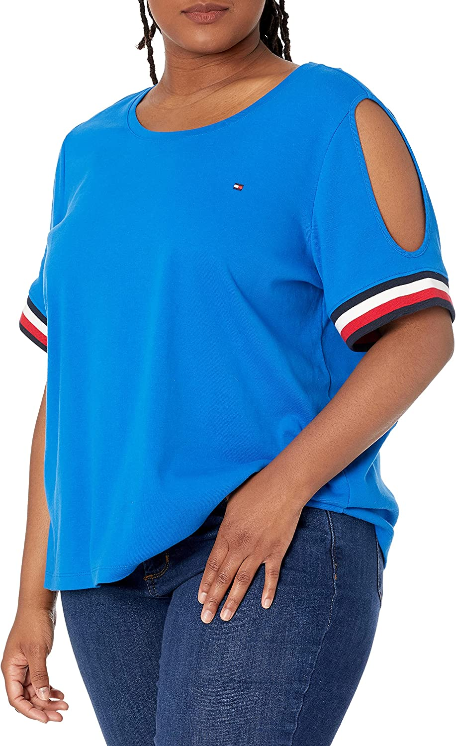 Tommy Hilfiger Women's Plus Size Cold Should Tee