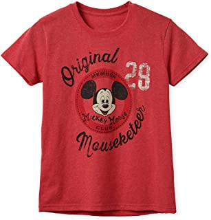 Disney The Mickey Mouse Club Mouseketeer T-Shirt for Women Multi