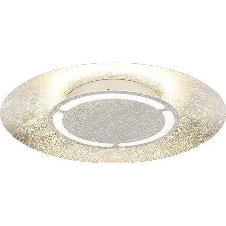 Design LED Decken Lampe Gäste Zimmer Beleuchtung Leuchte Gold patiniert rund