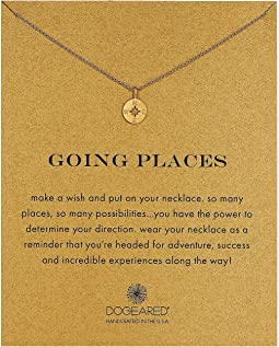 Dogeared - Going Places Compass Reminder Necklace