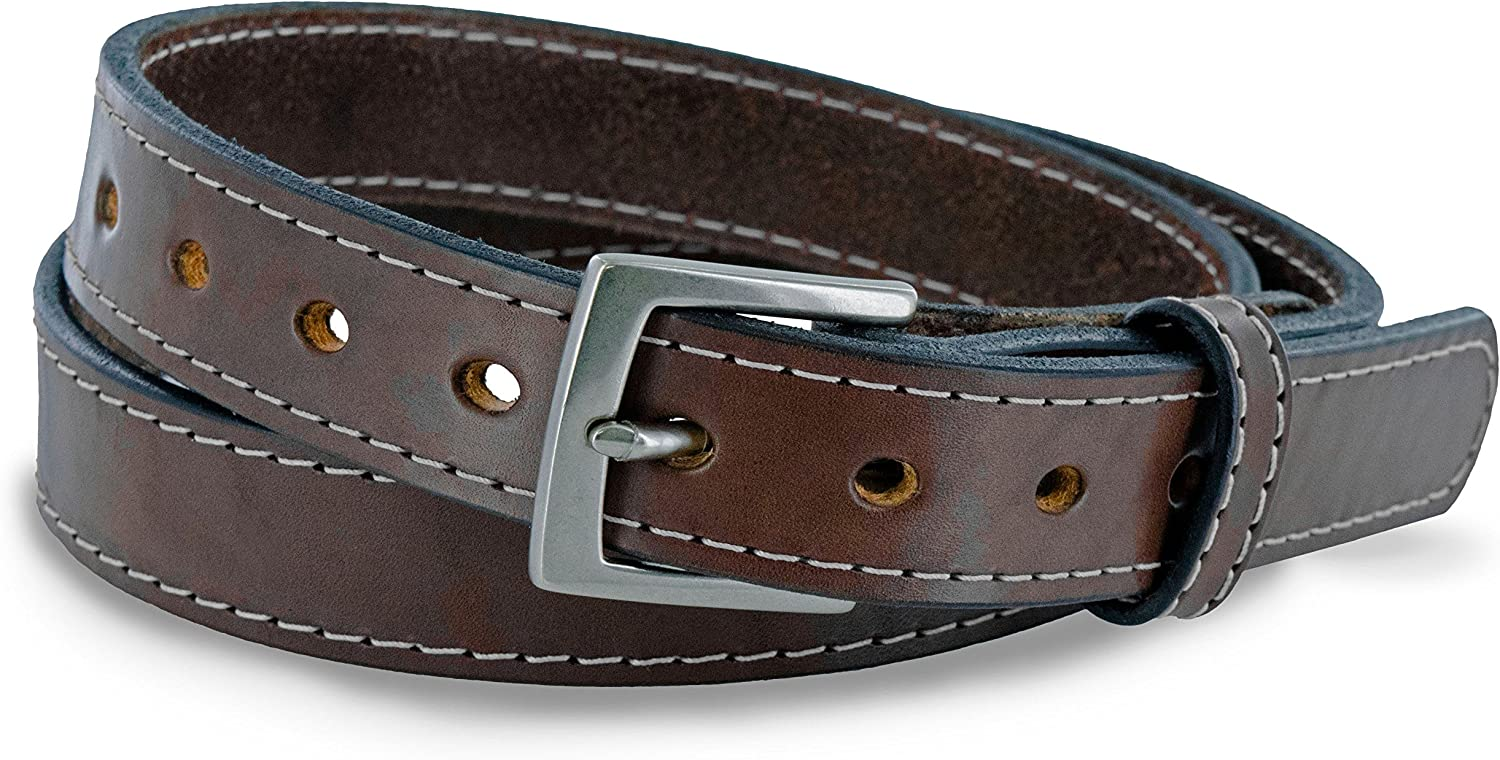 Hanks Women's Concealed Carry Gun Belt  The Bonnie Premium Leather 1.25   Made in USA  100Year Warranty