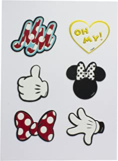 Minnie Mouse Accessoire de Stickers, polyuréthane, Multi, 1x 14x 19cm