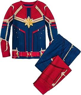 Marvel Captain Costume PJ PALS for Girls Multi