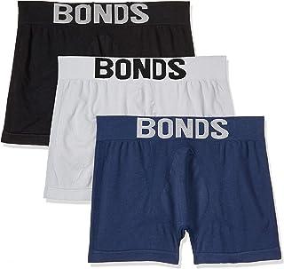 Bonds Men's Underwear Cotton Blend Seamfree Trunk