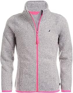 Girls' Uniform Full-Zip Fleece Sweater