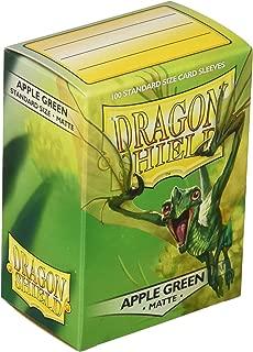 Dragon Shield Sleeves Matte Apple Card Game, Green - AT-11018