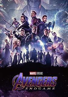 Avengers Endgame Poster - International Art - 2019 Marvel Movie (16x25) Poster Print Limited Edition Print Frameless Art Gift 40 x 63 cm
