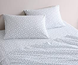City Scene - Percale Collection - Bed Sheet Set - 100% Cotton, Crisp & Cool, Lightweight & Moisture-Wicking Bedding, Twin,...