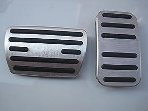 Por Golf 6 7 Pedal del coche AT automatico Cubierta pedales acelerador freno Acero inoxidable Caucho No se oxida PPE Antideslizante 2 piezas