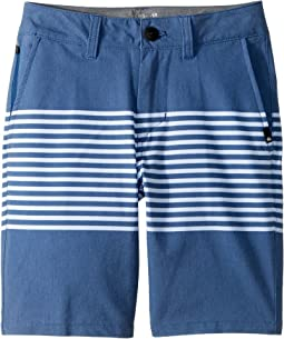 Quiksilver Kids - Echo Stripe Amphibian Shorts (Big Kids)
