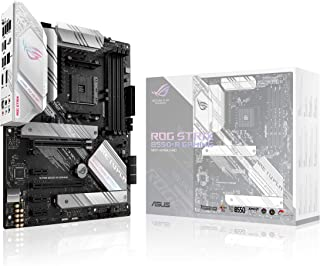 ASUS ROG Strix B550-A Gaming AMD AM4 Zen 3 Ryzen 5000 & 3rd Gen Ryzen ATX Gaming Motherboard (PCIe 4.0, 2.5Gb LAN, BIOS Fl...
