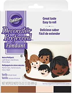 Wilton Decorator Preferred Natural Skin Tone Fondant Icing
