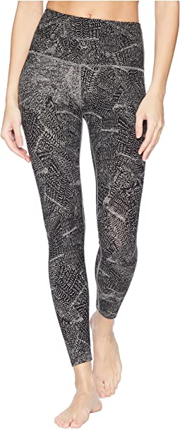 High-Waisted Print Midi Leggings