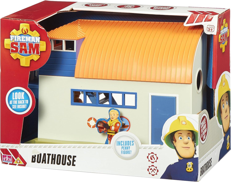 Fireman Sam 03733 Boathouse Adventure Playset