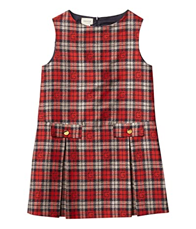 Gucci Kids Graphic Check Dress (Big Kids)