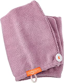 Stockout AQUIS Lisse Luxe Hair Turban - COLOR:Desert Rose - Standard size - SIZE .22 oz/ 6.4 mL