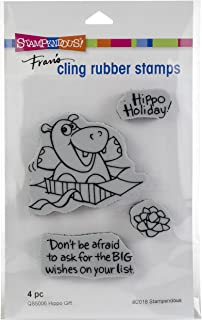 Stampendous Hippo Gift Stamp Set