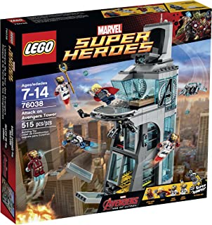 LEGO Super Heroes Attack on Avengers Tower 76038