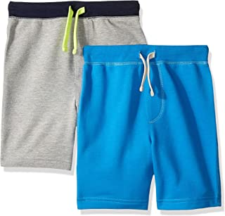 Amazon/ J. Crew Brand- LOOK by crewcuts Boys' 2-Pack Knit Pull on Shorts