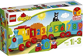LEGO DUPLO Number Train 10847 Playset Toy, Vehicle Toy for Toddlers