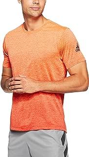 adidas Men's CZ5433 FreeLift Gradient T-Shirt, Hi-Res Orange/Raw Amber, XX-Large