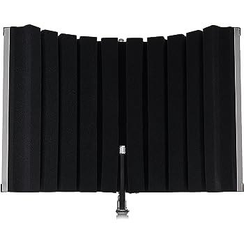Marantz Professional Sound Shield Compact - Schermo Acustico Portatile per Microfono dai Pannelli Fonoassorbenti Pieghevoli
