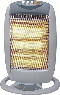 Garza Astreo - Calefactor halógeno infrarrojos con función oscilante, Potencia 1200W, Mod 81000115