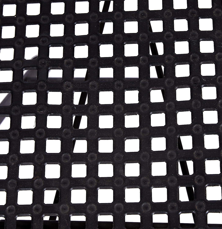 Better Best & 1402064-Chaise Pliante en métal Noir Noir
