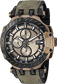 Tissot Mens T-Race Swiss Automatic Stainless Steel Sport Watch (Model: T1154273709100)