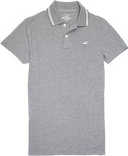 Hollister Men's Classic Pique Polo Golf Shirt HOM-2 (Large, 0065-125) …
