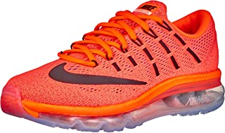 Nike Womens Air Max 2016 Premium Cushioned Sports Trainers - Size: 7.5 US or 24.5 cm - Color: Orange
