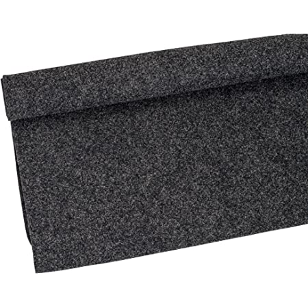 Parts Express Absolute C1YGR 3-Feet Long by 4 Feet Wide, 12 Square Feet Dark Gray (Charcoal) Carpet for Speaker Sub Box Carpet Home, Auto, RV, Boat, Marine, Truck, Car Trunk Liner