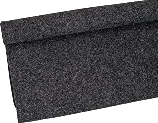 "Absolute USA C1YGR DuraLock Backed Speaker Cabinet Carpet Charcoal 3Ft (1 Yard) x 48"" Wide"