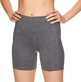 Women's Compression Running Shorts - High Waisted Performance Workout Short