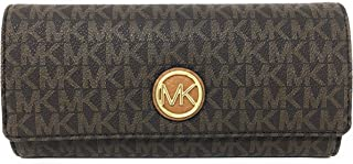 michael kors light brown wallet