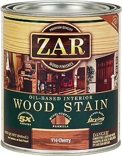 ZAR 11612 Wood Stain, QT, Cherry
