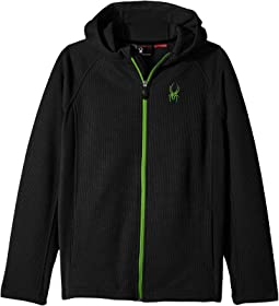 Spyder Kids Constant Hoodie Stryke Jacket (Little Kids/Big Kids)