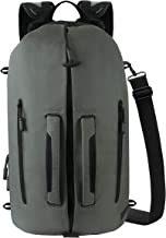 Ascentials Pro Fury, Nylon Laptop Backpack, Duffel Bag for Men, with 15 Inch Laptop Sleeve, 28 Liters
